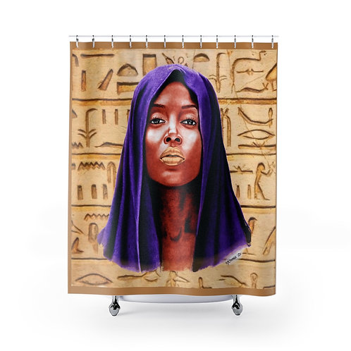 Poised in Color Shower Curtains
