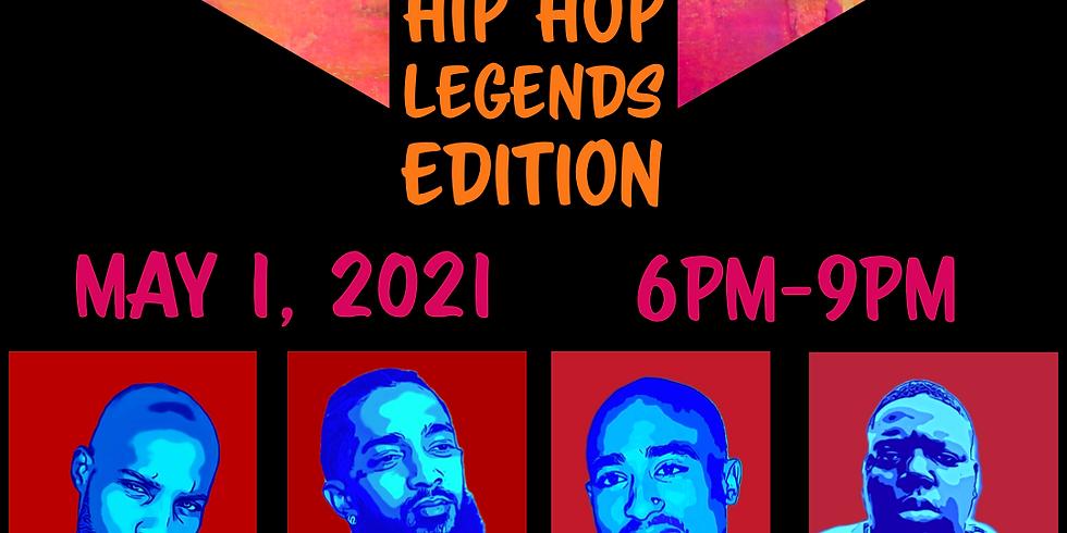 Hip Hop Legends Sip & Paint