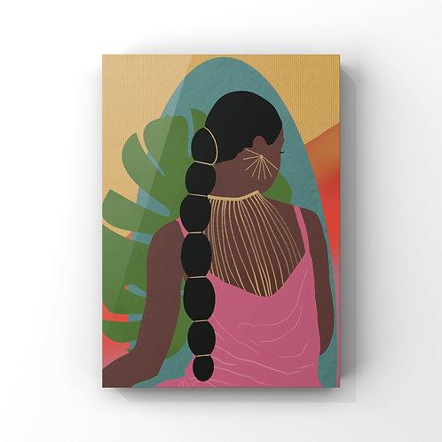 Black Woman Illustration