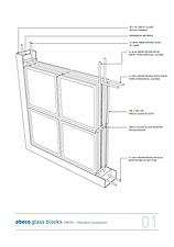GLASS BLOCK TECHNICAL DATA