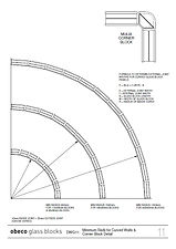 DWG11 Minimum Radii for Curved Walls & C