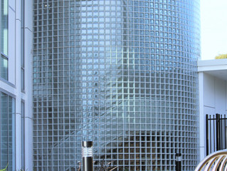 Glass Blocks at Rockdale Aquatic Centre