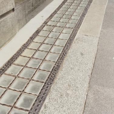 Obeco Heritage Glass Block Pavement Lights - Pitt Street
