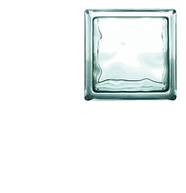 OBECO GLASS BLOCKS WAVE 115 X 115 X 80