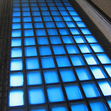 Obeco Heritage Pavement Light Glass Blocks - Castlereagh Street