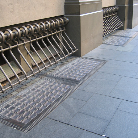 Heritage Pavement Light Glass Blocks - 2 Martin Place