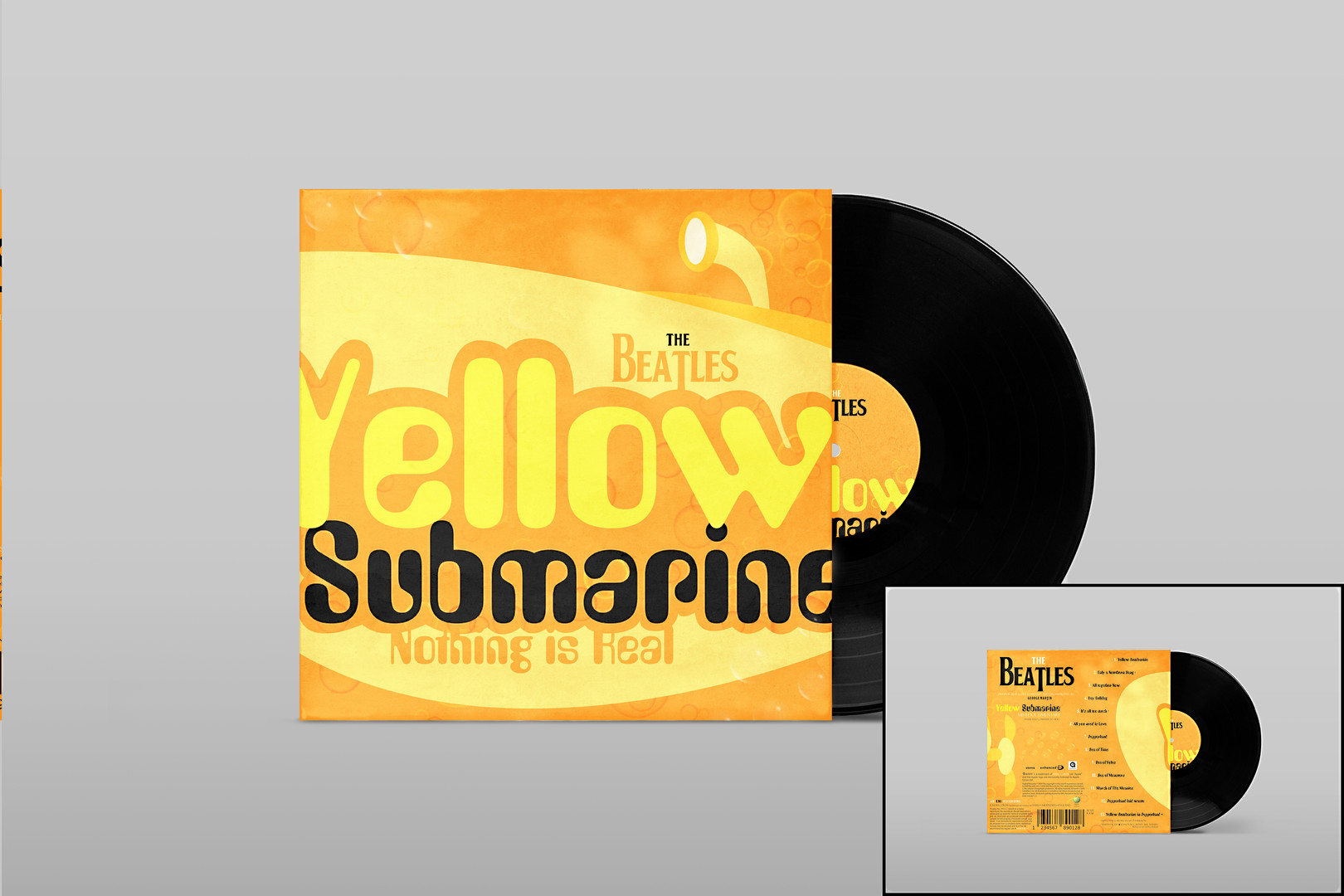 Yellow Submarine Album Redesign