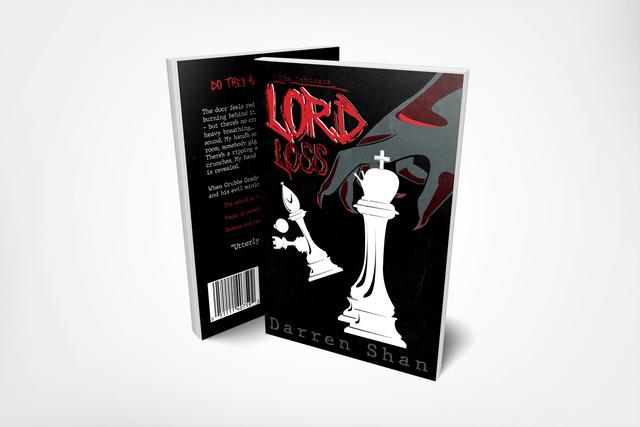 Lord Loss Book Jacket Design