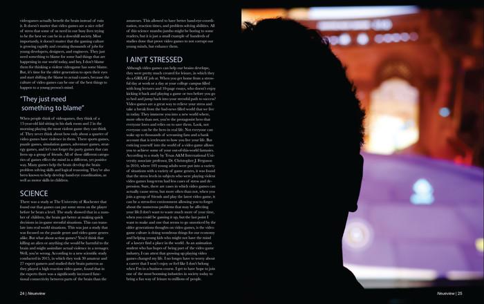 Magazine Spread Design 2