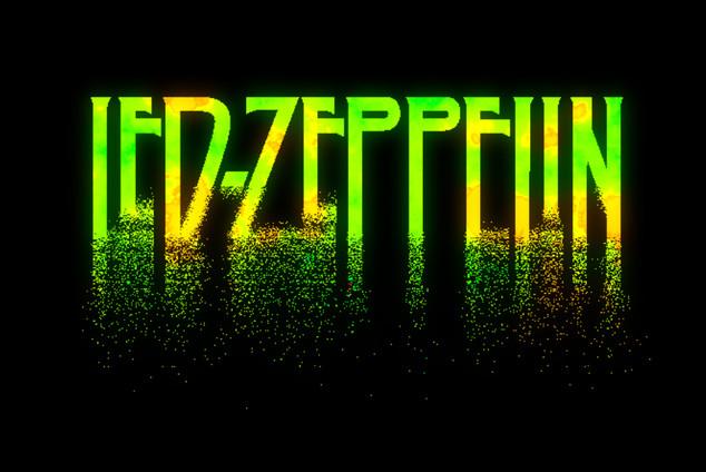 Led Zeppelin poster Design