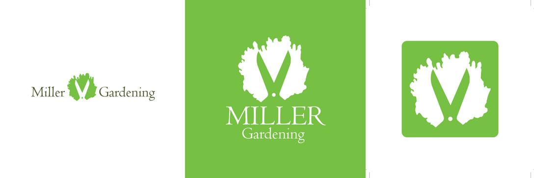 Miller Gardening Logo Design