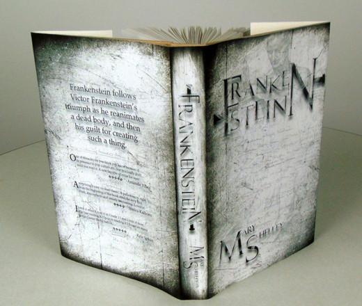 Frankenstein Book Jacket Design
