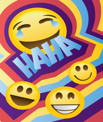 Childrens Laugh Poster Design