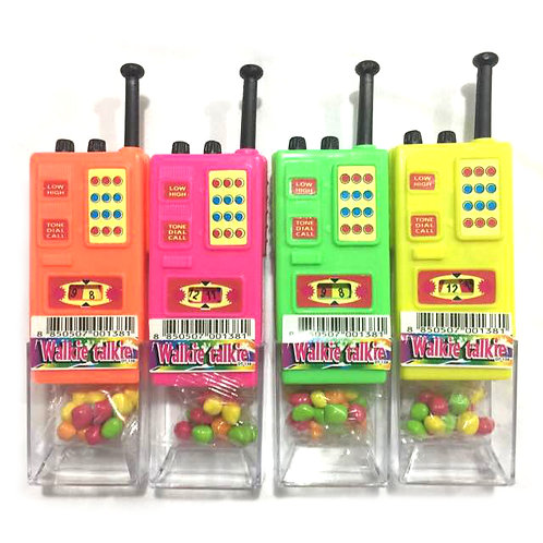 10pcs Walkie Talkie with Candy