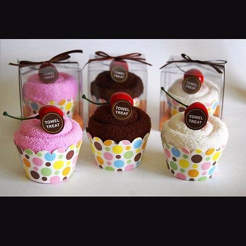 10pcs Towel Cupcakes