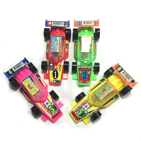 10pcs Racing Car with Candy