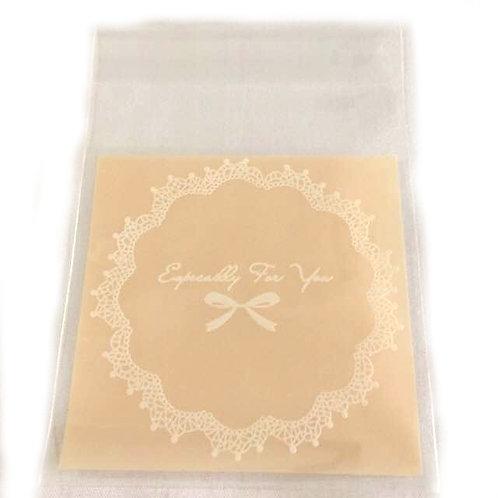 20pcs Plastic Bag with Seal - 7x7cm