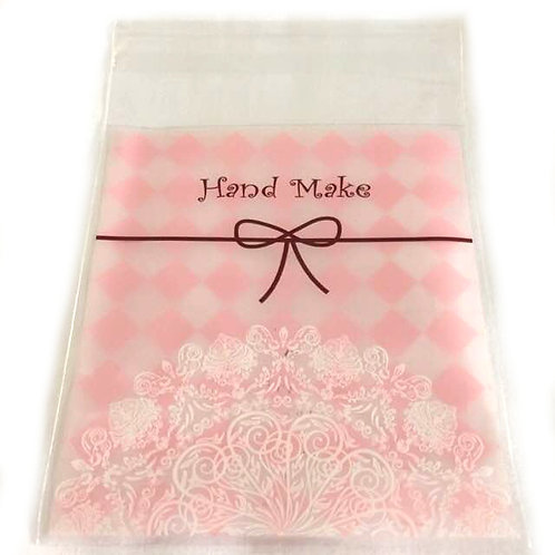 20pcs Plastic Bag with Seal - 10x10cm