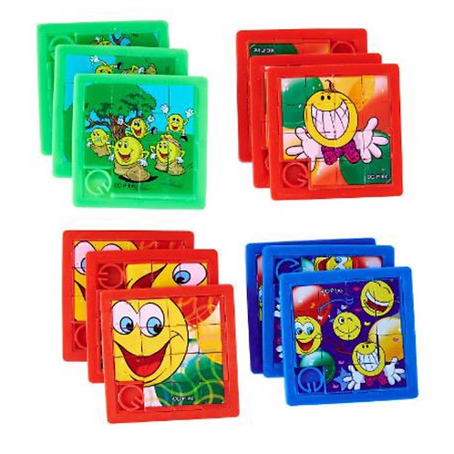 20pcs Slide Puzzle - Smiley Face