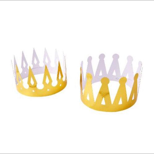 10pcs Paper Crowns