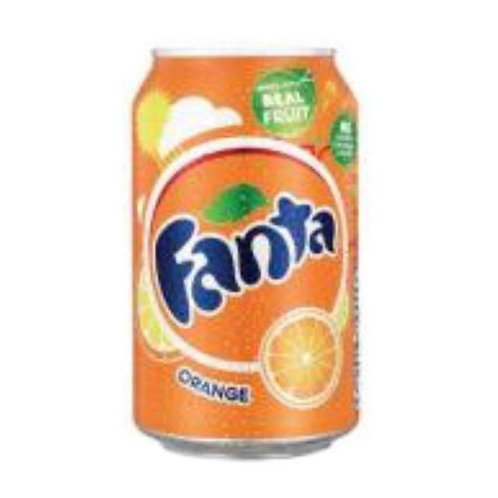 10cans Fanta Orange