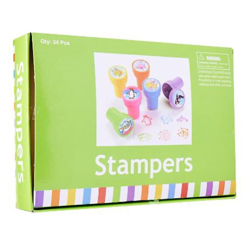 20pcs Ink Stampers - Ocean Life