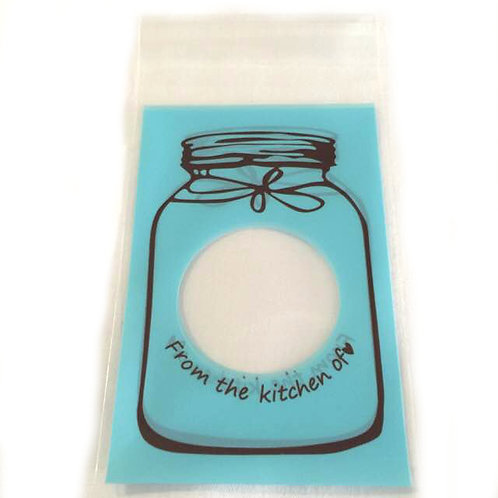 20pcs Plastic Bag with Seal - 8x10cm