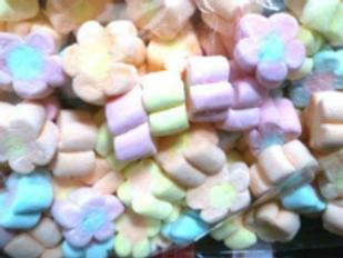 20pkts Marshmallows Flower Shape - 3pcs per pkt