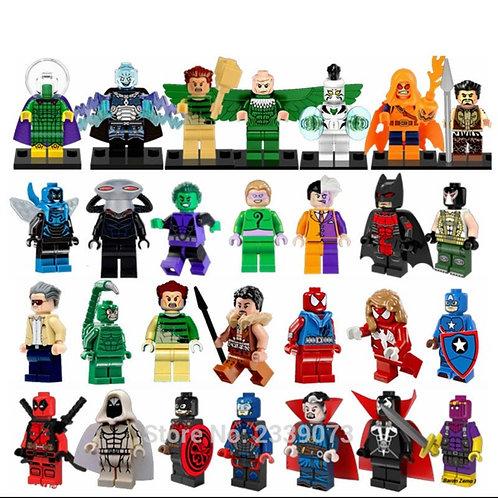 10pcs Building Blocks Figurines