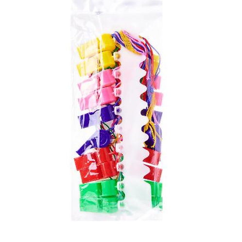 20pcs Whistle - Assorted Colours