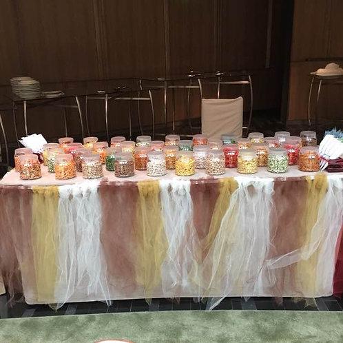 Kachang Putih Buffet Setup