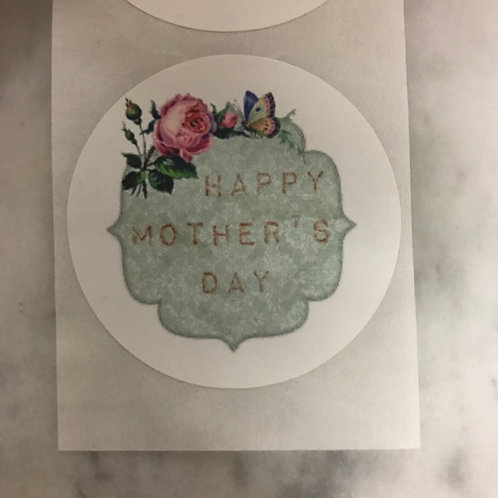 20pcs Stickers - Happy Mother's Day 001