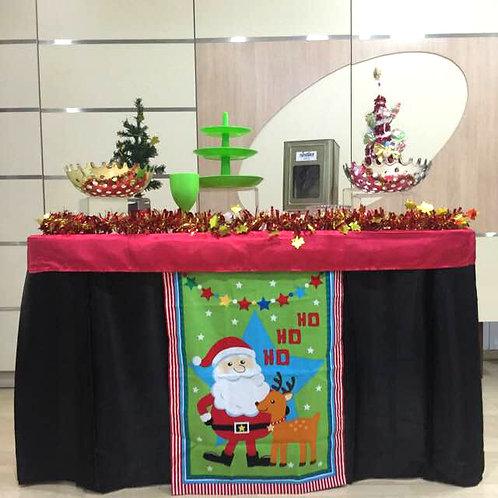 Candy Buffet Setup - Ho Ho Ho