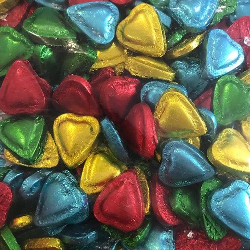20pcs Heart Love - White Chocolate - Halal