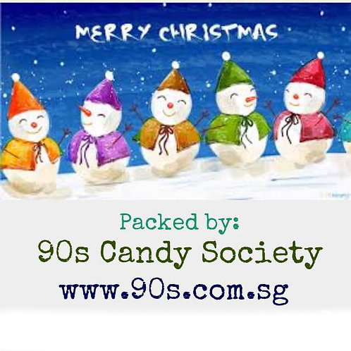 20pcs Sticker Seal - 90s - Xmas Christmas 011