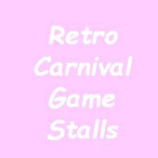 Retro Carnival Game Stalls