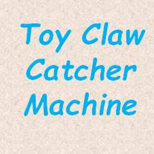 Toy Claw Catcher Machine
