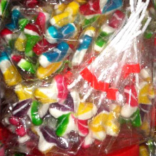 10pcs Lollipop - Star