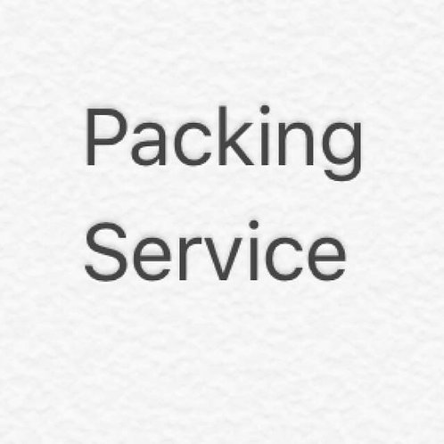 FREE Packing Service for Goodie Bags