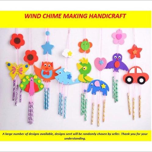 10pcs Kids Craft - Assorted Windchimes