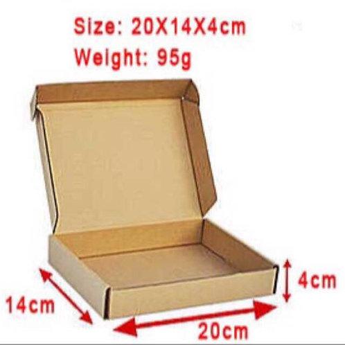 20pcs Brown Box
