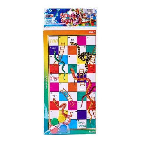 10pcs Paper Game - Snake & Ladder