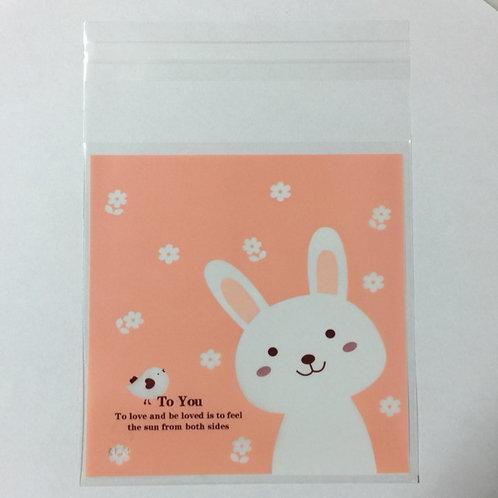 20pcs Plastic Bag with Seal - 10cmx10cm