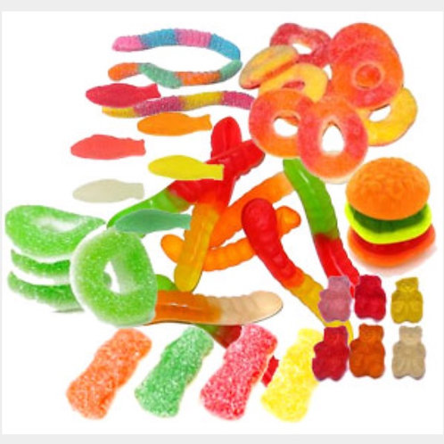 100pax Gummy for Candy Buffet Party