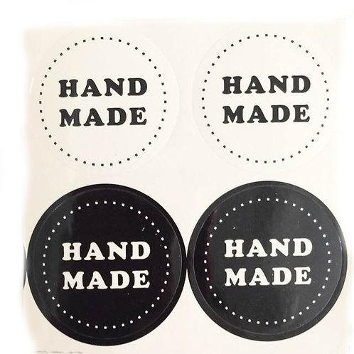 20pcs Sticker Seal - Hand Made 001