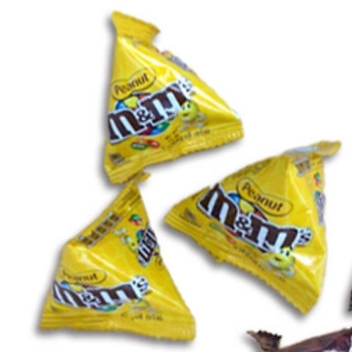 10pkts M&M Peanut - Fun Size