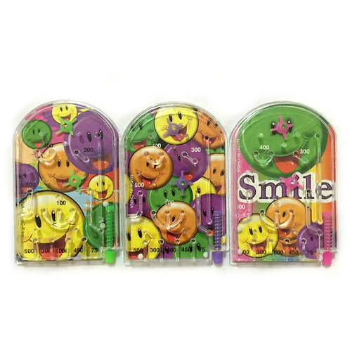 10pcs Smiley Face Pinball Game