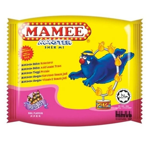 20pkts Mamee Monster