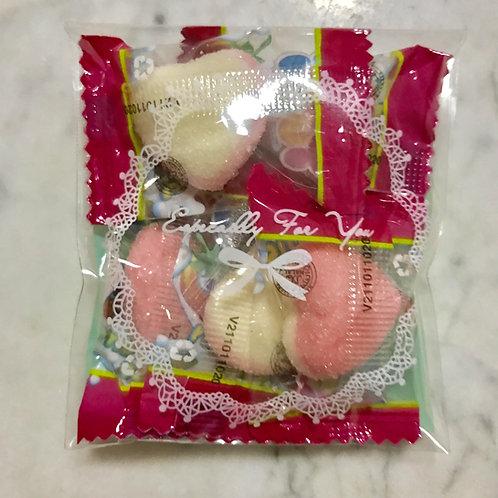 20pkts Goodie Bags - Valentine's Heart Gummies