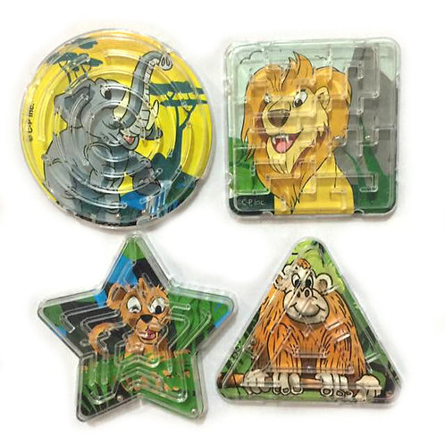 10pcs Animal Maze Puzzle